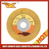 Non-Woven Polishingdisc (100X12mm, желтый цвет)