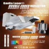 Met twee uiteinden kweek Lichte Reflector 1000W voor Hydroponic Inrichting van de Verlichting