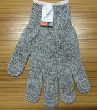 Перчатки придают непроницаемость защищают Анти--Вырезывание Butcher сетки безопасности Hppe
