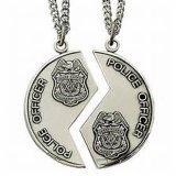 La polizia su ordinazione di alta qualità assegna la medaglia del ricordo