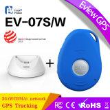 Perseguidor do GPS com tamanho do projeto de Keychain mini e perseguidor longo do GPS do tempo da bateria