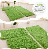 Microfiber Chenille Floor Mat Conjuntos 3PCS Polyester