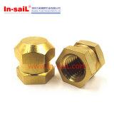 Porcas de bronze da inserção do produto do em-Molde