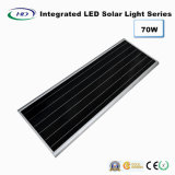 indicatore luminoso di via solare Integrated del sensore LED di 70W PIR