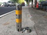 Colonne di ormeggio riflettenti della via di sicurezza del tubo dell'acciaio inossidabile di alta qualità, colonne di ormeggio di Traffice