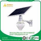 lumière solaire de jardin de stationnement de frontière de sécurité de lampe de mur de 12W 6000k DEL