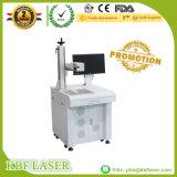 Etiqueta de plástico de escritorio del laser de la fibra del precio bajo