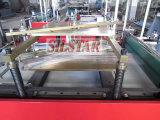 Bolso plástico del helado que hace la máquina