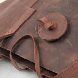 ワックスを掛けられた本革の方法袋デザイナー女性によってワックスを掛けられる袋(RS-506)