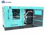 Générateur insonorisant 3 phases refroidi à l'eau avec Cummins Diesel Engine