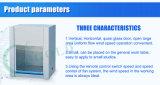 Armoire de flux laminaire à flux d'alimentation verticale