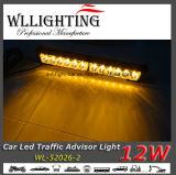 12 luzes de advertência do conselheiro do tráfego do caminhão do diodo emissor de luz