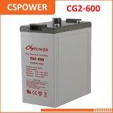 De Batterij van het Gel van de Opslag van de Macht van Cspower 2V 600ah - het Systeem van de Zonne-energie