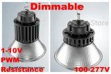 Três em uma resistência 110lm/W 150W do sinal da função de escurecimento 1-10V PWM Luminaires elevados do diodo emissor de luz do louro de um Dimmable de 150 watts