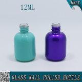 Kosmetik 12ml leeren kundenspezifischer UVdruck-flüssige Nagellack-verpackende Glasflasche