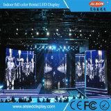 Farbenreiche Innenmiete P4.81 LED-Bildschirmanzeige für Ereignisse