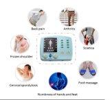 Massager electrónico del pulso del pie con el deslizador de la terapia de los diez