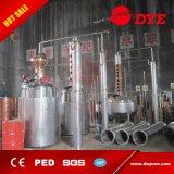 Crisol de cobre de destilación del equipo del alcohol del equipo de la destilación del vino aún