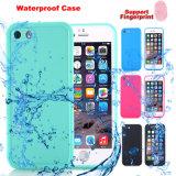 携帯電話Utral薄いTPUはiPhone7 7plusのためのカバー防水ケースを細くする