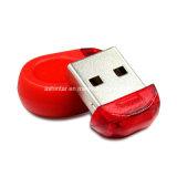 Mini disco istantaneo impermeabile del USB del USB del bastone di plastica di memoria