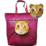 El bolso plegable, plegable los solos bolsos de hombro, Bag de señora, bolso