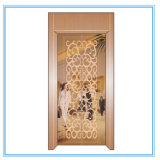 Elevador residencial de la elevación del pasajero del hogar de la cabina de la decoración