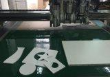Macchina ad alta densità di CNC di taglio di oscillazione della scheda della gomma piuma di stampa di Digitahi della taglierina di strato del PVC