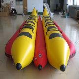 Aufregendes Wasser-Spiel-aufblasbares doppeltes Weg-Bananen-Boot für Verkauf