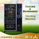 Distributore automatico del cioccolato di formato standard e del succo di arancia