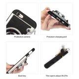 couverture protectrice de caisse de gel mou de silicones de modèle d'appareil-photo de l'iPhone 7