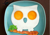 Прессформа яичка силикона сыча завтрака кухни