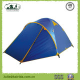 Pole-kampierendes Zelt der doppelten Schicht-3 mit Extension