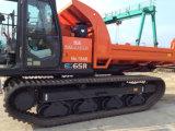 Trilha da máquina escavadora, trilhas da borracha da construção 300X52.5kx80