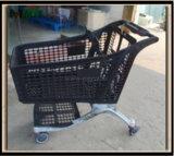 220 litros del supermercado de carro de compras plástico Mjy-CPP220