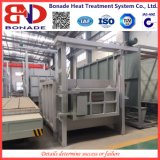 fornalha 115kw em forma de caixa de alta temperatura para o tratamento térmico