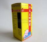 Caja de embalaje de la cartulina farmacéutica