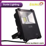 20 Vatios LED Luz de Inundación con Epistar Chip (SLFI COB 20W)