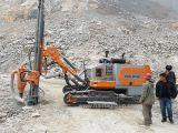 Plataforma de perforación minera neumática hidráulica de la correa eslabonada DTH de la venta (HFG-54)
