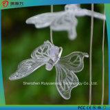 Borboleta solar Droplight do diodo emissor de luz para o jardim e a decoração Home