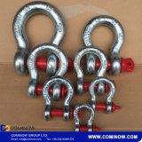 Jumelle en acier modifiée de proue d'attache de Pin G209 de vis galvanisée