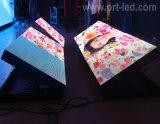 Afficheur LED P8 polychrome extérieur d'accès principal pour annoncer le panneau