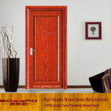 New Design MDF Veneer Bedroom Door (GSP8-015)