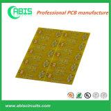 OEM amarelo da placa de circuito impresso do PWB da máscara da solda (VOLTA RÁPIDA)