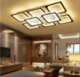 Plafonniers modernes acryliques ultra-minces de DEL pour la lampe de plafond de salle de séjour décorative
