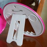 Insigne de bouton de bâti de photo de logo estampé par fer fait sur commande de forme ronde