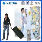 Display portátil Pop up Stand Booth Backwall Advertising Equipment