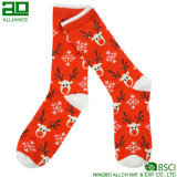 Носки платья экипажа счастья патоки Santa Claus милые