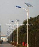 높은 광도 9m 60W 옥외 LED 태양 가로등