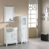 Kundenspezifische Qualitäts-weiße Farben-Eitelkeits-Oberseiten für Badezimmer