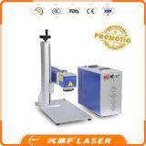 Máquina de gravador portátil de fibra portátil para cobre / alumínio / Tiatânio / ABS